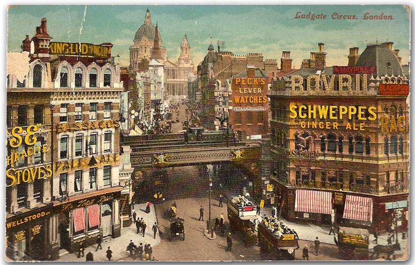 01 London Ludgate Schweppes