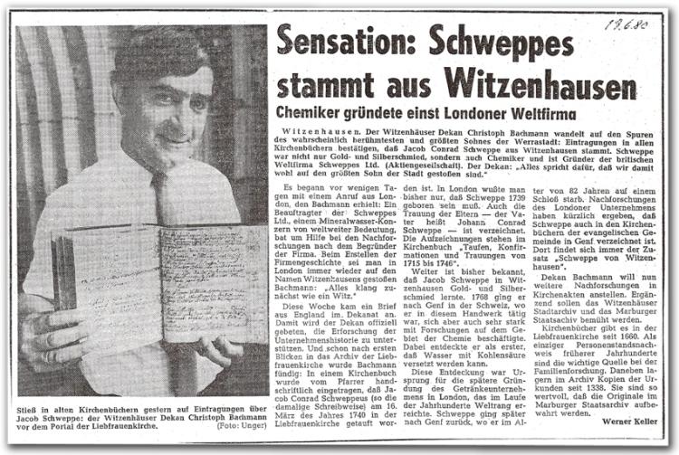 28 TZ Witzenhausen Schweppes